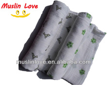 """HOT!!! Baby Muslin Wrap Swaddle Blanket 100% Organic Cotton Super Soft 47x47"""" After Washed"""