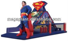 commercial grade spiderman inflatable slide