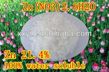 98% techn grade Zinc Nitrate in nitrate 6H2O