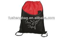 Black Drawstring Bag For Basketball