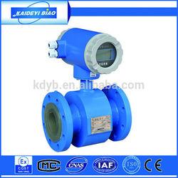 digital electromagnetic water flow meter sensor with 4-20mA