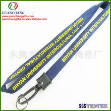 custom silkscreen lanyard,key strap