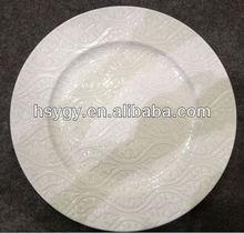 Christmas plastic plates