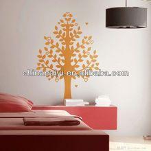 wholesale reusable adhesive tree wall decor sticker