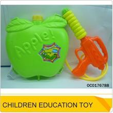 2014 new plastic apple's backpack water gun OC0176788