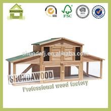 SDR14 wooden custom rabbit hutch