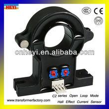 split core hall effect current sensors C2 series DC current clamp sensor