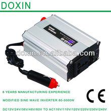 DC - AC 80W modify sine wave inverter Used in car,solar panel,home