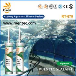 RT678 Acetic Silicone Aquarium Sealant