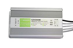 24V 200W waterproof led driver ip67