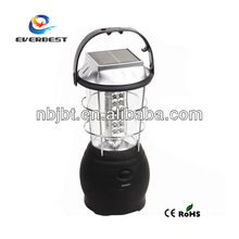 high power led camping lantern with solar panel