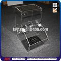 Fábrica tsd-a135 personalizado de alta calidad de café de acrílico dispensador de frijol/de plástico dispensador de cereales/de dulces de acrílico exhibición de la barra