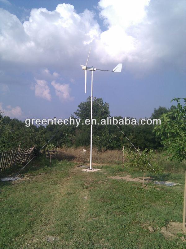 Hot sale off-grid 5KW hybrid solar wind power system