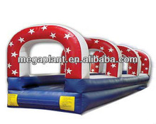 usa design inflatable water slide long slip and slide