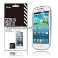 Chegada nova!! Ultra- clear anti-reflexo do telefone celular acessório/protetor de tela para samsung galaxy mini s3( anti-reflexo)