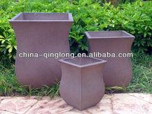 Antique Pots Planter Unique Shape Plant Planter Urns Gardening Planter Vase QL-13157 For Sale