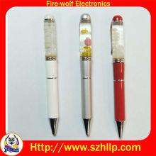 OEM floating liquid ball pen,magnetic pen,Liquid ball pen,Promotion pen
