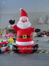 Hot new inflatable Santa Claus/air blown Santa display