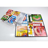 Paper Cardboard Custom Design board game maker mini- board game