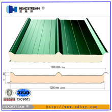 pu sandwich panel for roof and wall