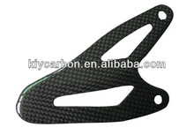Carbon fiber heel plate for Streetfighter 848 1098