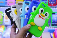 hot selling 3d silicon animal case for iphone5 for iphone 5' case
