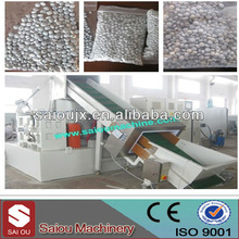 Plastic waste and PP PE films recycling and granulating line