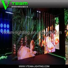 Indoor flexible curtain p10 mesh led screen