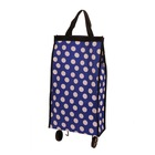 YY-2402 foldable grocery shopping bag supermarket trolley