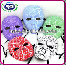 Halloween Carnival Christmas Wholesale Party Supplies Full Face Eco-friendly PVC Venitian Party Mask Masquerade Masks