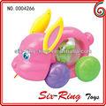 Garoto puxar caixa de música de corda para brinquedos puxe brinquedos moda brinquedo da tração mecanismo