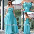 flor de novia vestido de azul cielo formación niñascargan 2014