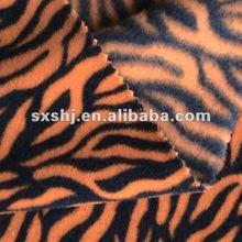 100% Polyester Animal Skin Printed Polar Fleece Fabric