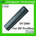 longa vida operacional de substituição da bateria do portátil para hp dv2000