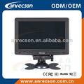7 pequeno polegadas vga monitor lcd hdmi 12v
