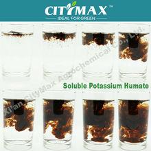Humate potassio da leonardite fiocco 100% solubile in acqua