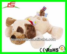 LE-A13031504 lovely stuffed plush dog animal toys