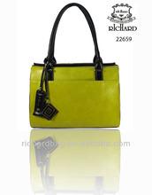 Oil wax kraft PU handbags
