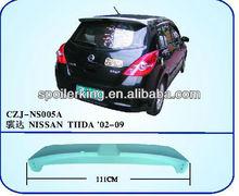 ABS SPOILER FOR NISSAN TIIDA 02-09