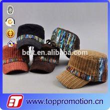 promotion cotton hat for round face men caps