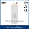 CBB60 Plastic Wire Type Washing Machine Motor Run Capacitor