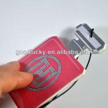Bottle shape Car air freshener with New car fragrance