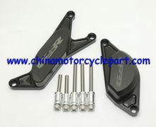 Quick production Motorcycle CNC Engine Slider protectors for SUZUKI GSR600 06-10 Engine Slider