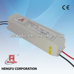 40W waterproof LED driver, constant current, with PFC