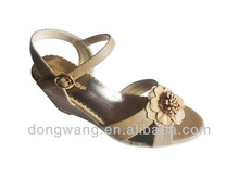 2012 wholesale woman lady girl model casual sandals summer new designs