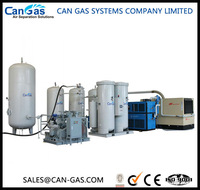 Oxygen making and cylinder filling equipment