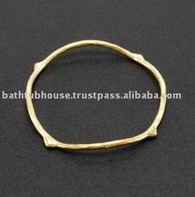 brass bangle cuff Y.32b