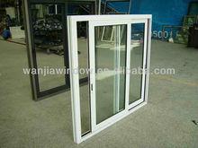 Economic & energy saving upvc/pvc sliding window design(Conch/shide/Mensi)