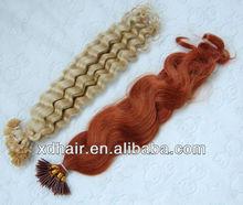 Cheap factory price bohemian remy U-TIP human hair extension