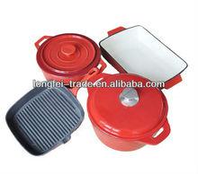 Best Selling Enamel Coated Cast Iron Enamel Cookware